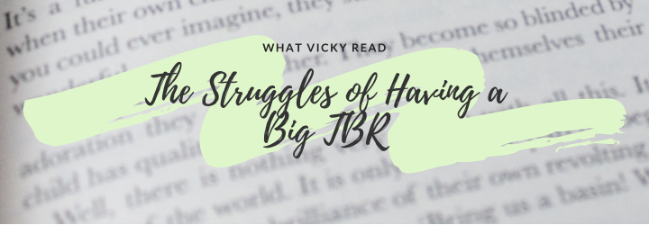 The Struggles of Having a Big TBR